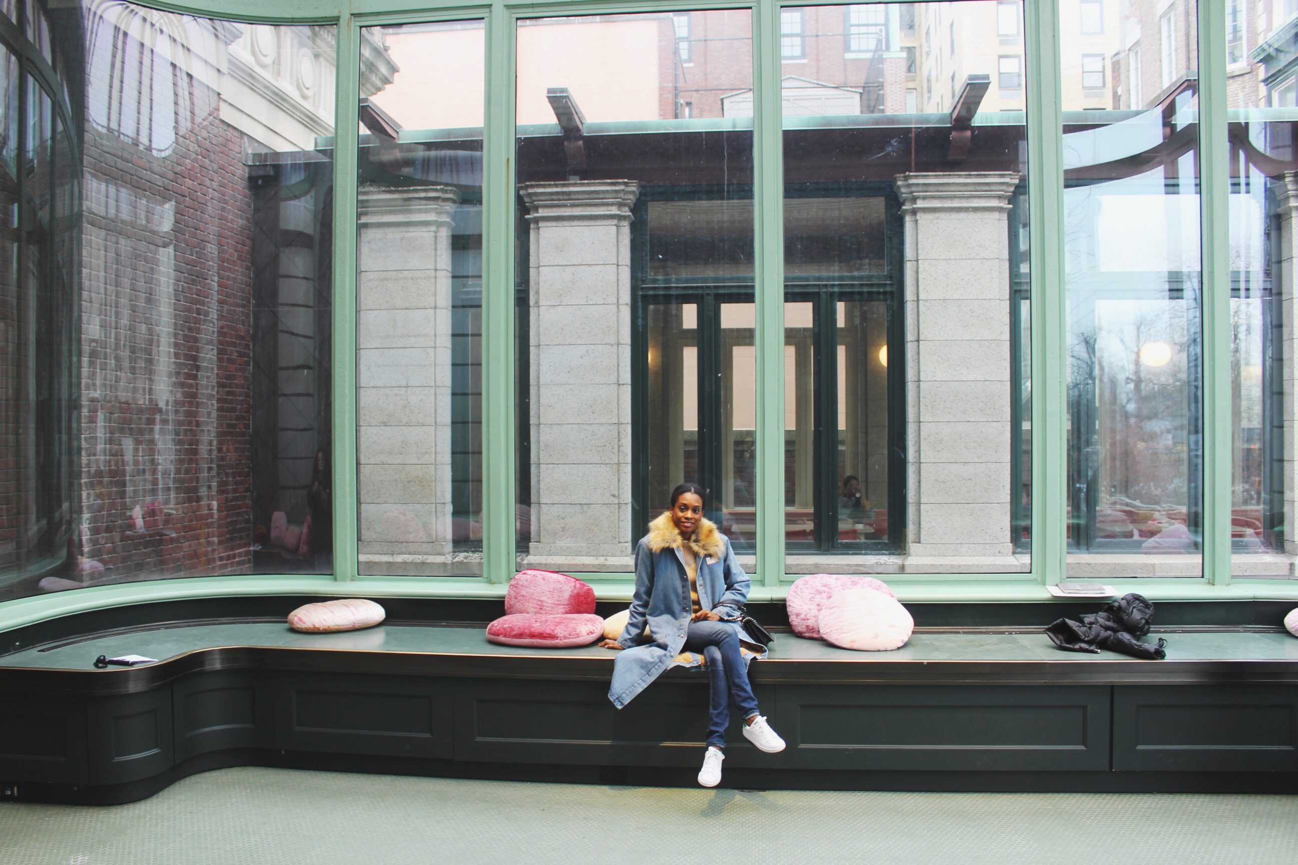 alyssa francois at cooper hewitt design museum